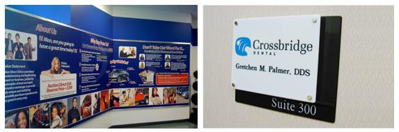 Sign Companies Interior Showroom Rochester Ny