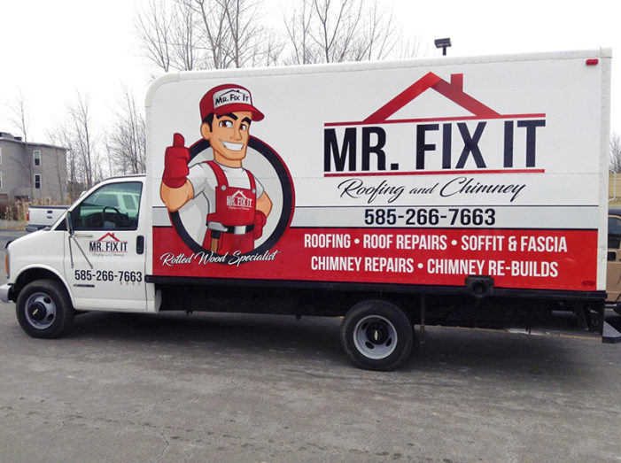 rochester vehicle wraps fleet truck