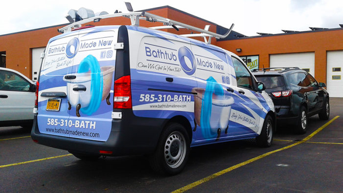 rochester vehicle wraps fleet wrap company