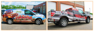 rochester wraps vehicle