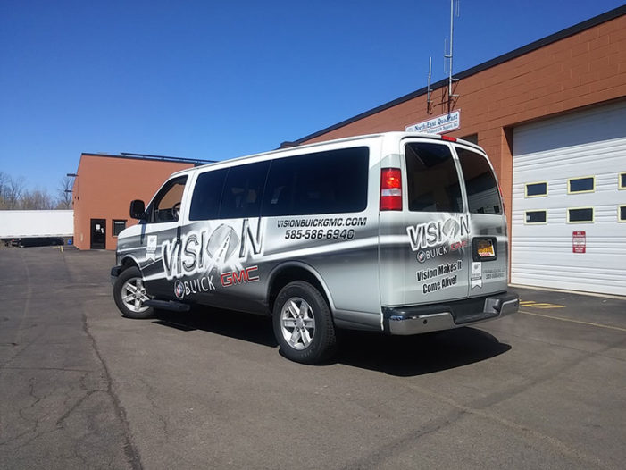 rochester ny vehicle wrap 3m certified installers