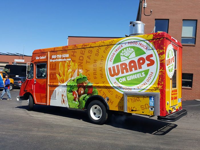 Food Truck Wrap Vital Signs