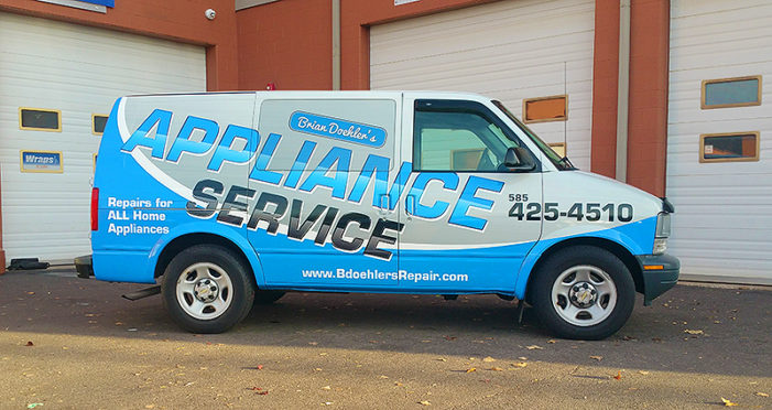 rochester vehicle wraps fleet
