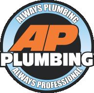 ap plumbing rochester logo