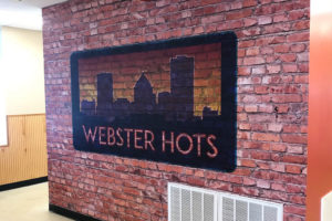 vinyl architectural wall graphics