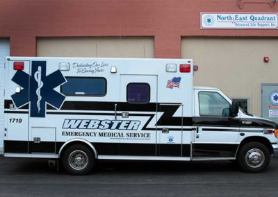 rochester emergency vehicle fleet graphics and lettering installation-company
