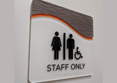 rochester ny ada braille signs