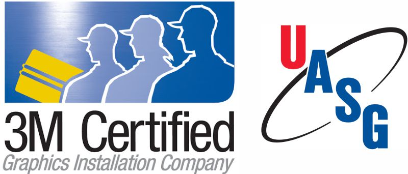3M certified graphics installation company UASG rochester ny vital signs