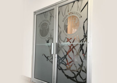 architectural frosted vinyl etched glass installers rochester ny