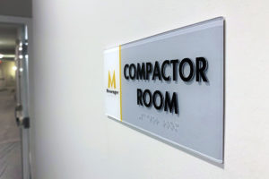 rochester ny ada braille signage interior signs handicap sign