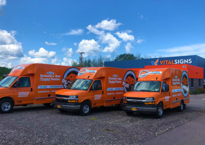 rochester vehicle fleet wraps installers
